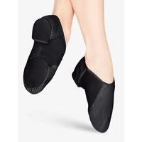 Neoprene arch slip on jazz shoe