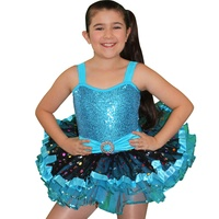 Disco tutu dance dress