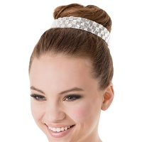 Crystal Bun Crown (Colour: Rhinestone)